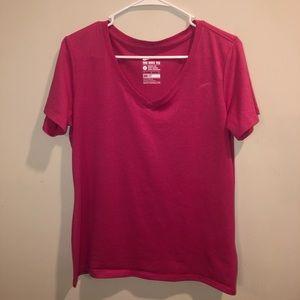 Nike Dri-Fit Pink Women's Athletic Shirt